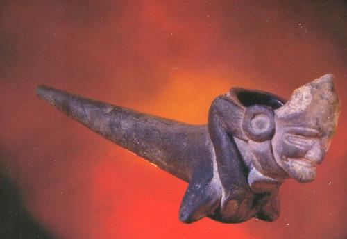 Pipa mítica Huehuetéotl