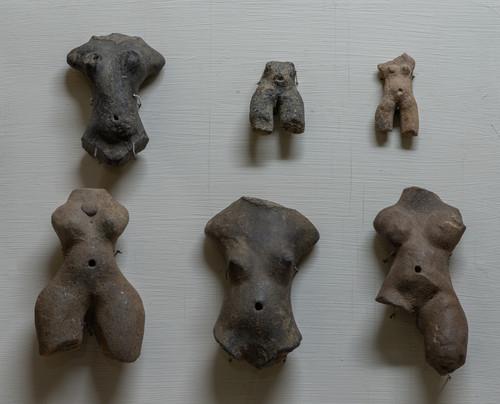 Figurillas femeninas desnudas,  del Soconusco