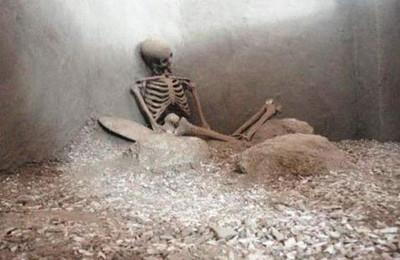 Restos de un antiguo habitante de Xihuican
