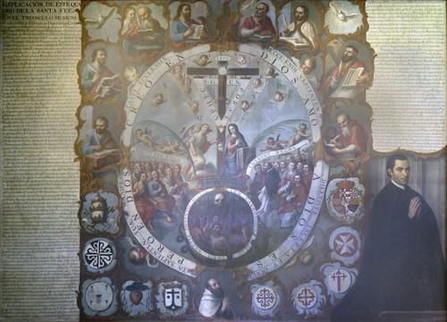 Alegoría de la Santa Fe Católica