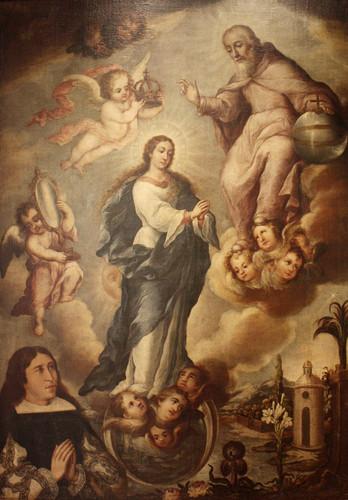 La coronación de la Virgen o la asunción de María