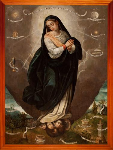 Purísima Concepción de María o Tota Pulchra