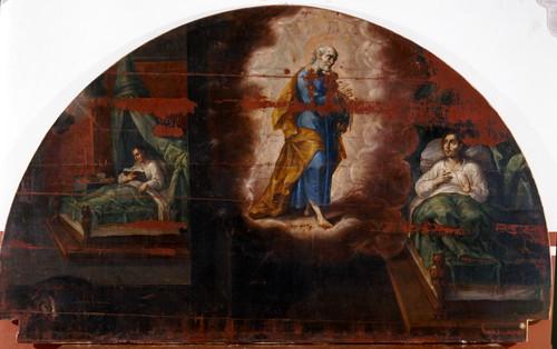 Aparición de san Pedro a san Ignacio