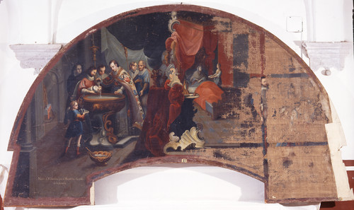 Nacimiento y bautizo de san Estanislao de Kostka