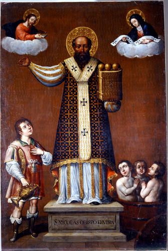 San Nicolás Obispo de Mira