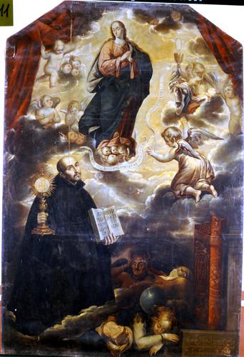 Aparición de la Virgen a san Ignacio de Loyola