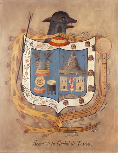 Escudo de armas, ciudad de Texcoco