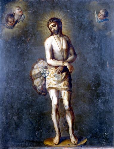 Ecce Homo y visión de san Ignacio de Loyola