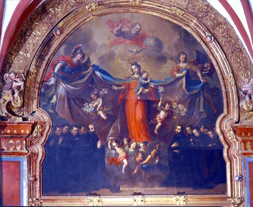 Patrocinio de la Virgen a la Compañía de Jesús