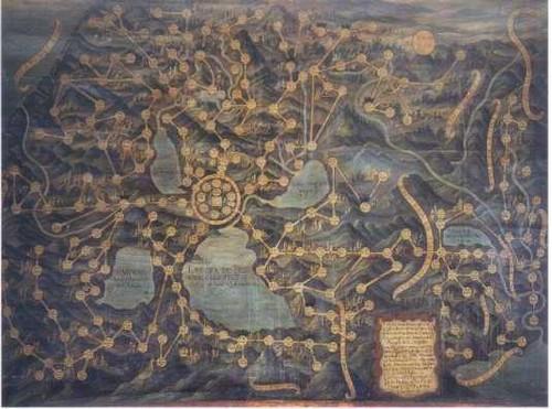 Plano del Arzobispado de México