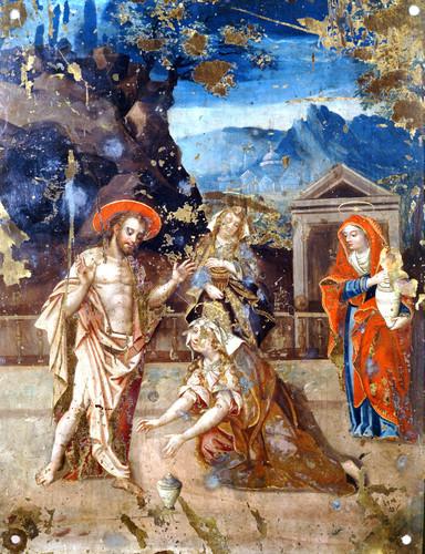 Cristo resucitado se aparece a las mujeres