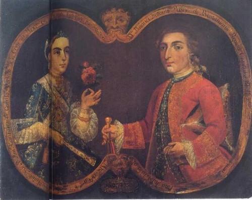 Manuel Antonio Payno de Bustamante y señora