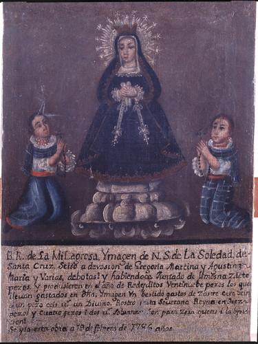 Cuenta de gastos de Nuestra Señora de la Soledad