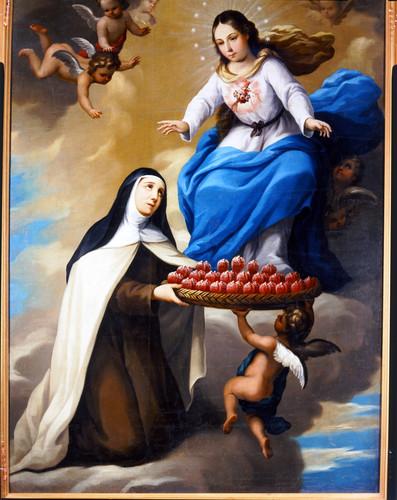 El Sagrado Corazón de María y la orden Carmelita