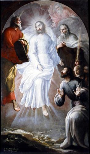 La transfiguración de Jesucristo