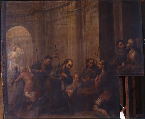 San Ignacio visita los Santos Lugares de Jerusalén