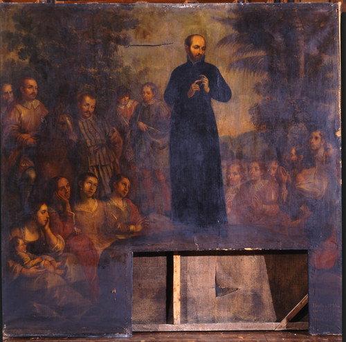 San Ignacio predica en su patria y explica la doctrina cristiana