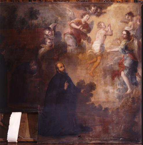 San Ignacio ve subir al cielo el alma del último de sus compañeros
