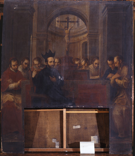 Da san Ignacio en Roma los Ejercicios Espirituales