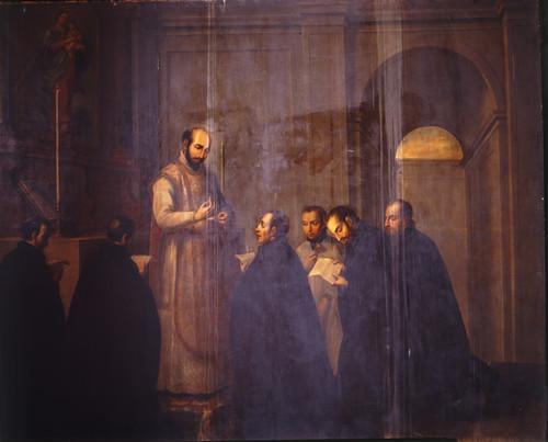 San Ignacio hace su profesión