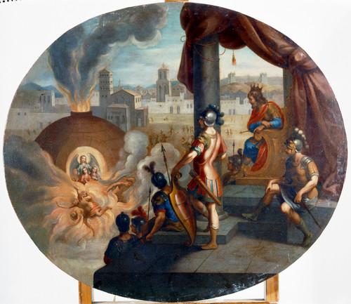 Martirio de santa Fe, santa Esperanza y santa Caridad
