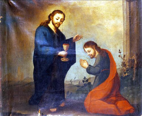 Aparición de Cristo a José de Arimatea