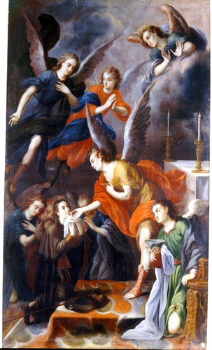 Comunión de san Estanislao de Kostka