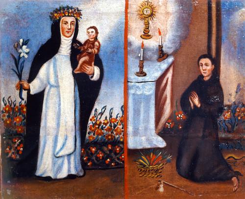 Santa Rosa de Lima y san Pascual Bailón