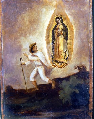 Segunda aparición de la Virgen de Guadalupe a Juan Diego