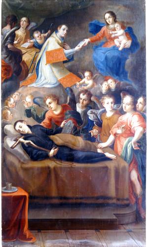 Muerte de san Luis Gonzaga
