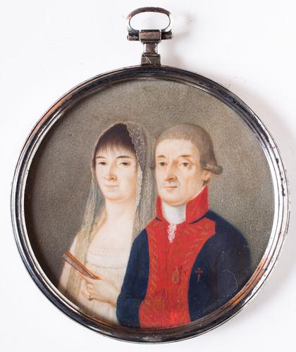 José Iturrigaray y su esposa