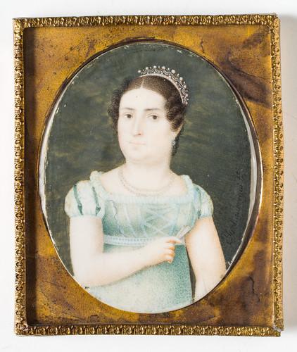 Dama (Ana María Huarte de Iturbide)