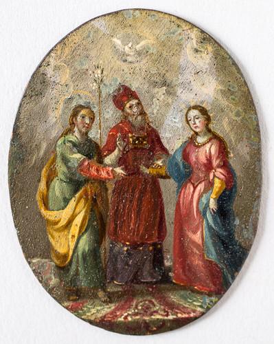 Los desposorios de la Virgen y san José