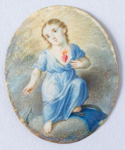 Sagrado corazón de Jesús, niño
