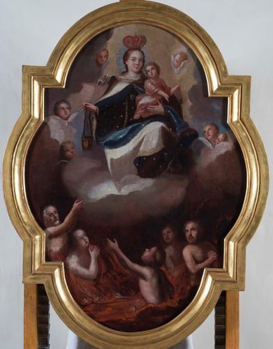 Virgen del Carmen intercesora de ánimas