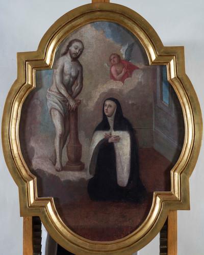 Santa Teresa y el Señor de la columna