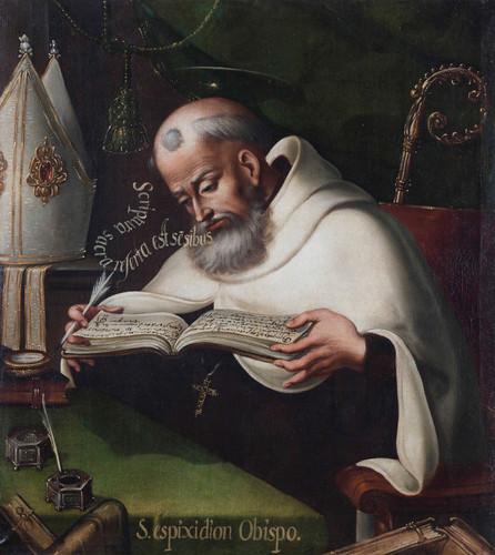 San Espiridión Obispo