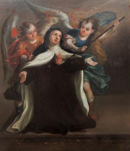 Transverberación de santa Teresa / Éxtasis de santa Teresa