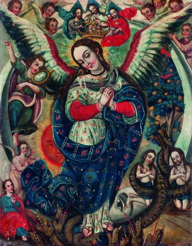 Virgen apocalíptica
