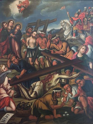 Levantamiento de la cruz