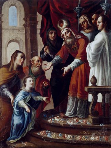 Presentación de la Virgen María en el Templo