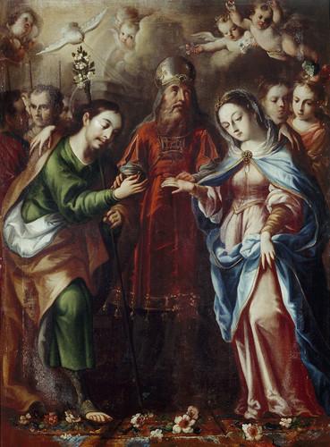 Los desposorios de María y José