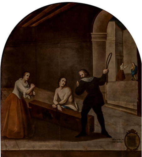 Francisco castigado por su padre