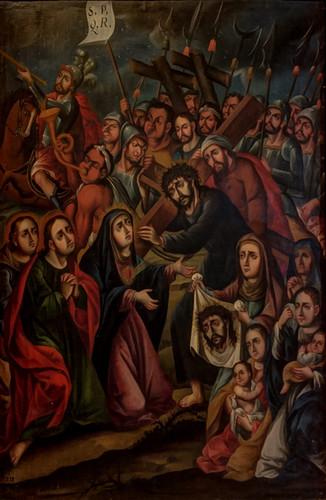 Jesús Nazareno camino al Calvario