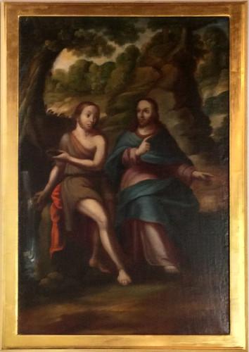 Cristo con San Juan Bautista
