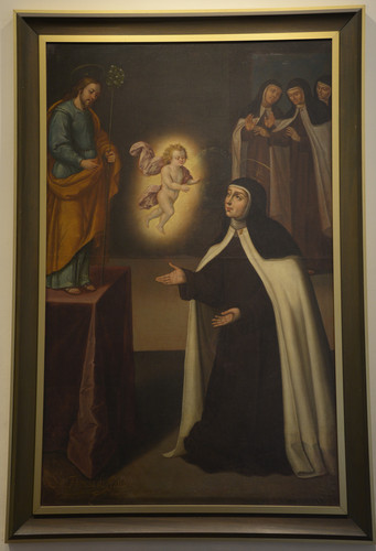Aparición del Niño Jesús a Santa Teresa