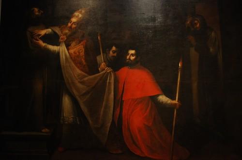 El Papa Nicolás verifica el cuerpo incorrupto de San Francisco