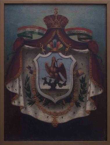 Escudo del Imperio de Iturbide