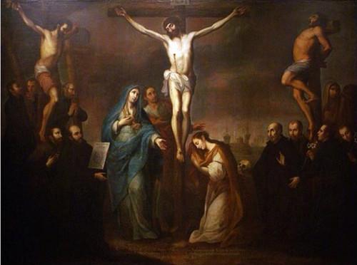 Calvario con los Santos Jesuitas