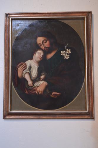 San José y el Niño Jesús